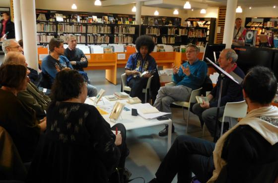 Café littéraire à la médiathèque de Capdenac-Gare
