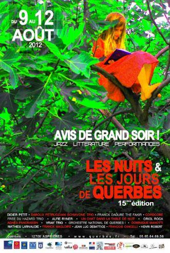affiche Querbes 2012