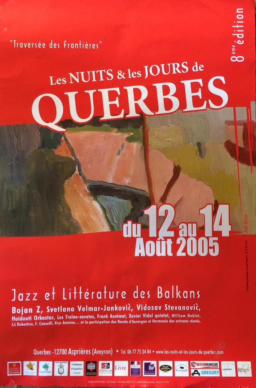 affiche Querbes 2005