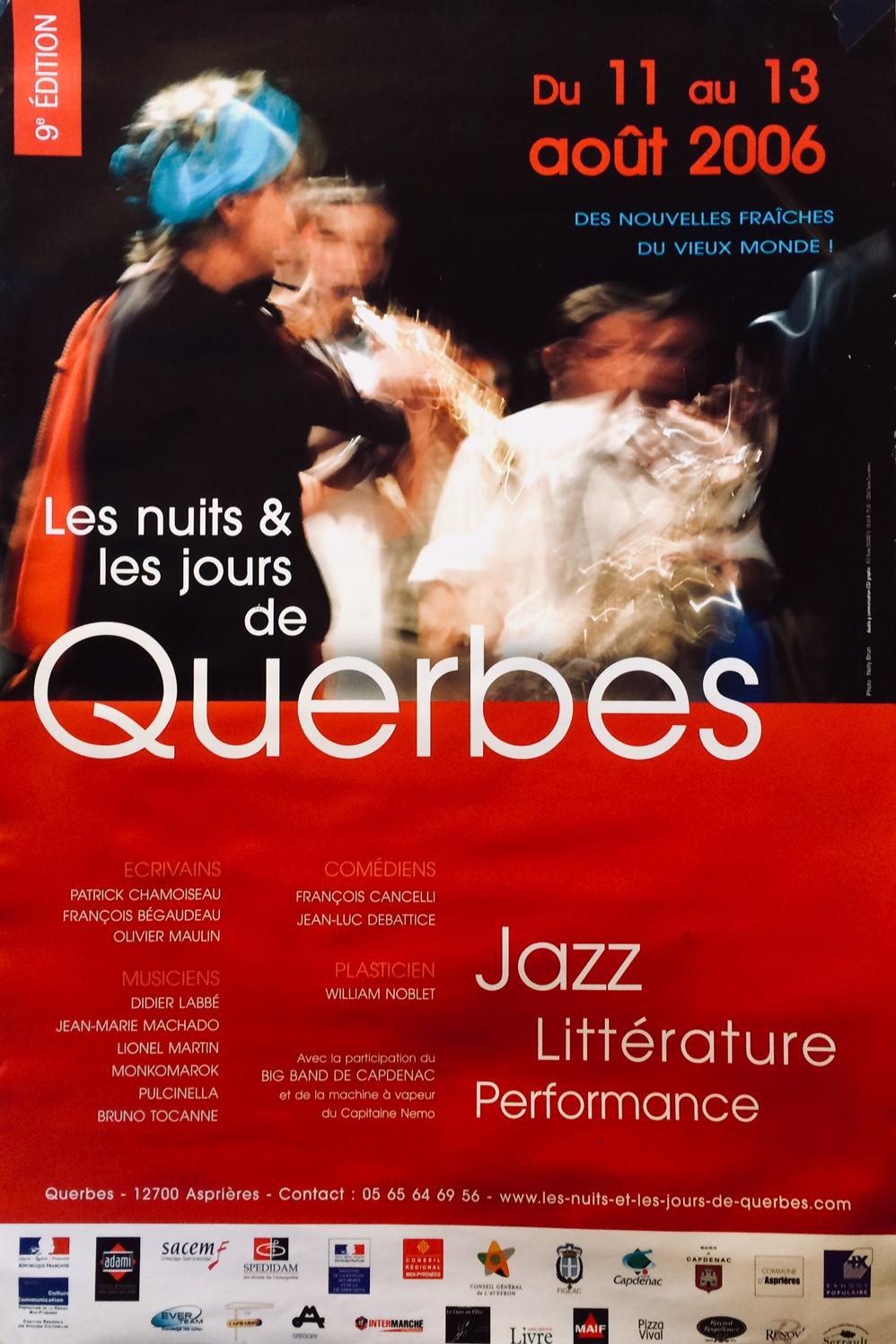 Affiche Querbes 2006