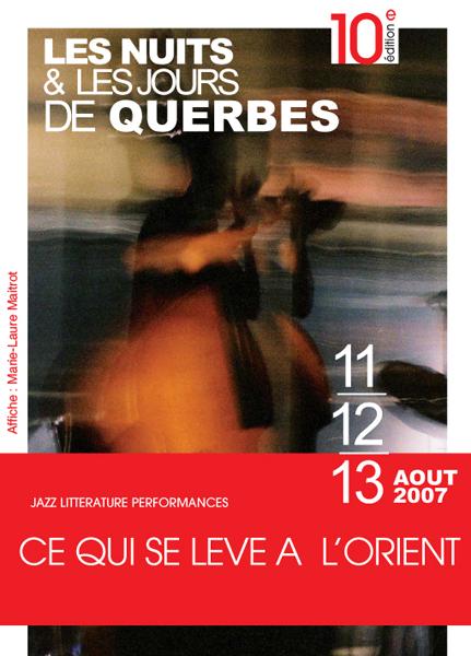 affiche Querbes 2007
